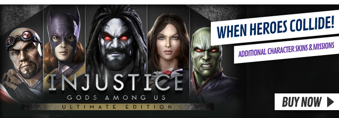 Injustice Ultimate Edition for PlayStation Vita - Buy Now at GAME.co.uk!