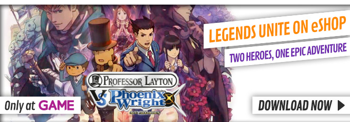 Professor Layton vs Phoenix Wright: Ace Attorney  - Download Now at GAME.co.uk!