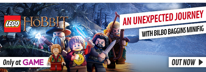 LEGO Hobbit Exclusive for WiiU  - Buy Now at GAME.co.uk!