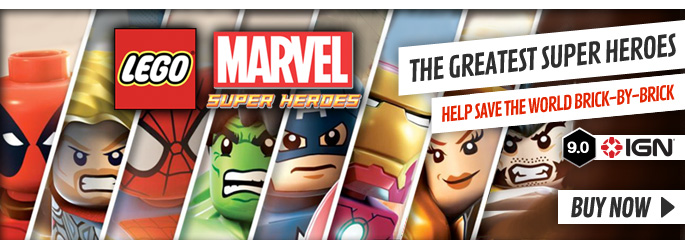 LEGO Marvel Super Heroes for PlayStation Vita - Buy Now at GAME.co.uk!