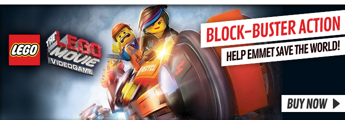 Lego Movie Videogame for Nintendo WiiU - Buy Now at GAME.co.uk!