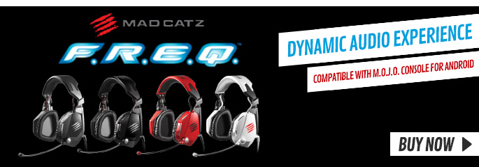 MadCatz FREQ 3D and 4D Headsets - Preorder Now at GAME.co.uk!