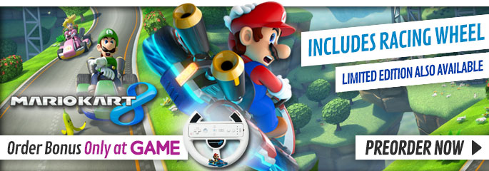 Mario Kart 8 for Nintendo WiiU - Buy Now at GAME.co.uk!