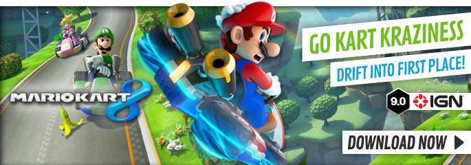 Mario Kart 8 for Nintendo eShop - Buy Now at GAME.co.uk!