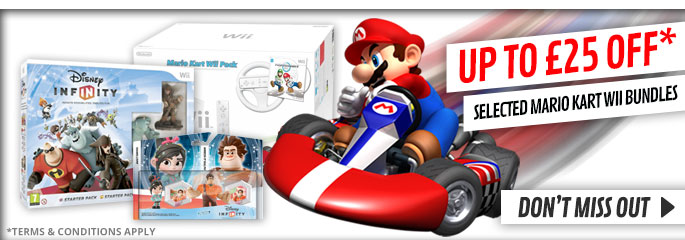 Up to 25% off Selected Mario Kart Wii Bundles - at GAME.co.uk