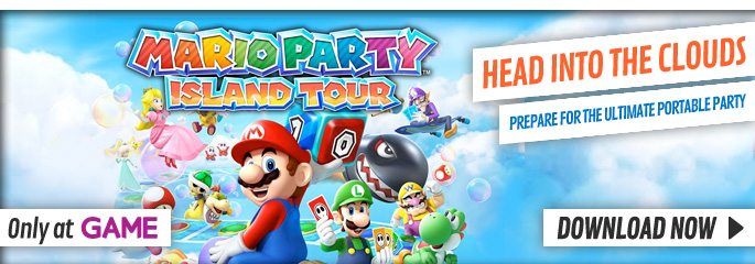 Mario Party Island Tour for Nintendo 3DS - Download Now at GAME.co.uk!