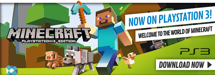 Minecraft for PlayStation Network - Downloads at GAME.co.uk!