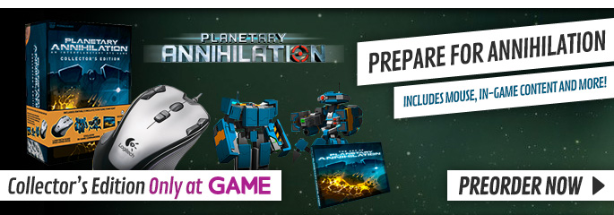 Planetary Annihilation Collectors Edition for PC - Preorder Now at GAME.co.uk!