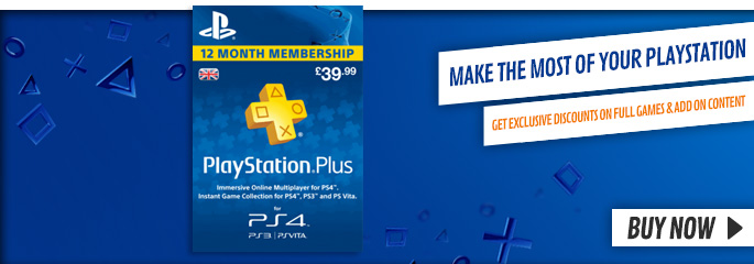 PS Plus 12 Month Membership - Downloads at GAME.co.uk!