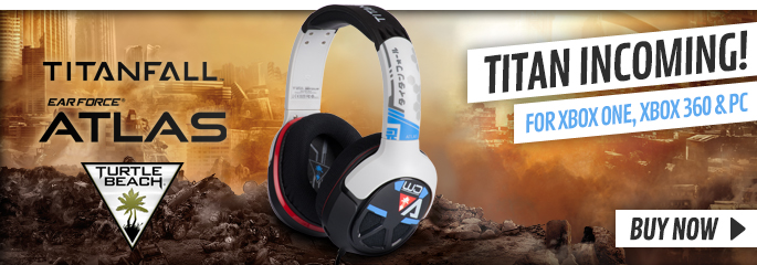 Titanfall Earforce Atlas Gaming Headset - Preorder Now at GAME.co.uk!