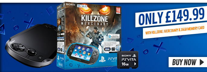 Kilzone Bundle for PlayStation Vita - Buy Now at GAME.co.uk!