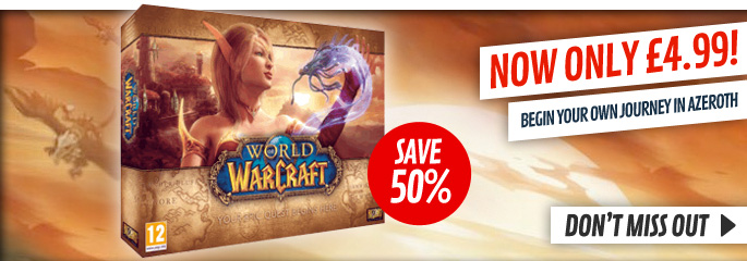 World of Warcraft Promo for PC - Buy Now at GAME.co.uk!