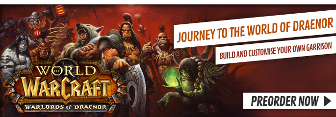 World of Warcraft: Warlords of Draenor for PC - Preorder Now at GAME.co.uk!