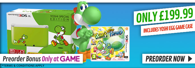 Yoshis New Island for Nintendo 3DS - Preorder Now at GAME.co.uk!
