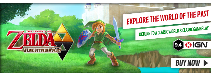 Legend of Zelda: Link Between Worlds for Nintendo 3DS - Buy Now at GAME.co.uk!
