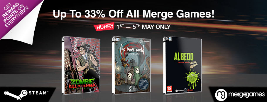 33% Off Merge Indie Games for PC Download - Download Now at GAME.co.uk!