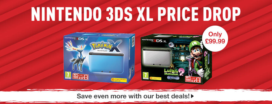 Nintendo 3DS XL Console Deals - Buy now at GAME.co.uk