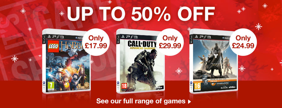 Up to 50% Off PlayStation 3 Games - Buy Now at GAME.co.uk!