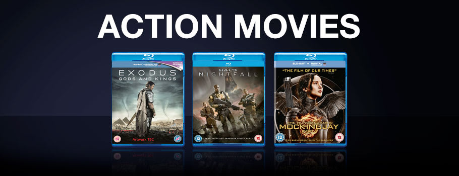 Aciton Movies  - Buy Now at GAME.co.uk!