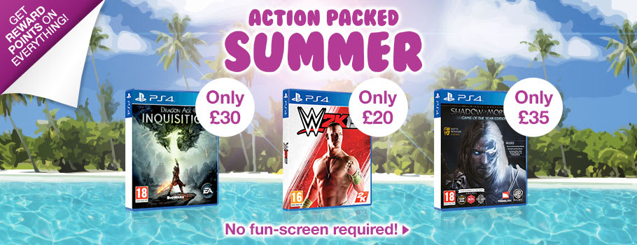 Action Packed Summer Deals for PlayStation 4 - Buy Now at GAME.co.uk!