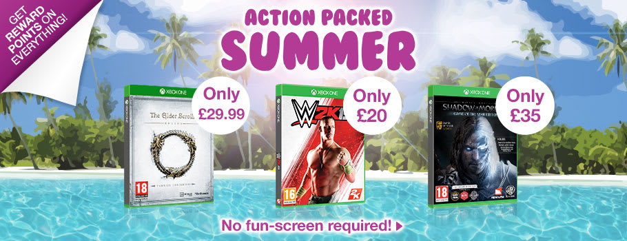 Action Packed Summer Deals for Xbox One - Buy Now at GAME.co.uk!