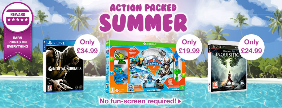 Action Packed Summer Deals - Buy Now at GAME.co.uk!