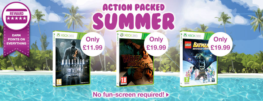 Action Packed Summer Deals for Xbox 360 - Buy Now at GAME.co.uk!