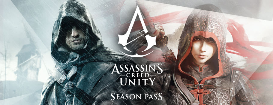 Assassin's creed Unity Season Pass for Xbox Live - Pre-purchase Now at GAME.co.uk!
