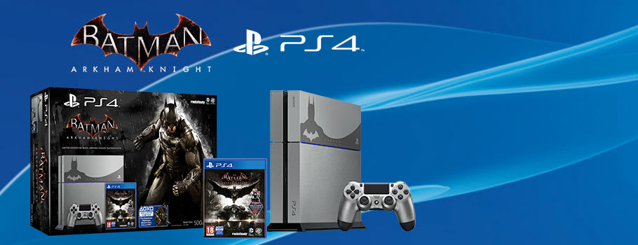 Batman Arkham Knight PlayStation 4 Console - Preorder Now at GAME.co.uk!