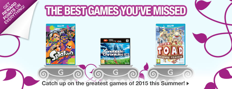The Best Games You've Missed on Nintendo - Buy Now at GAME.co.uk!