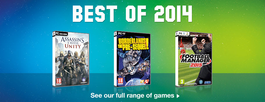 Best of 2014 Deals for PC - Buy Now at GAME.co.uk!