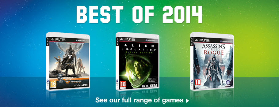 Best of 2014 Deals for PlayStation 3 - Buy Now at GAME.co.uk!