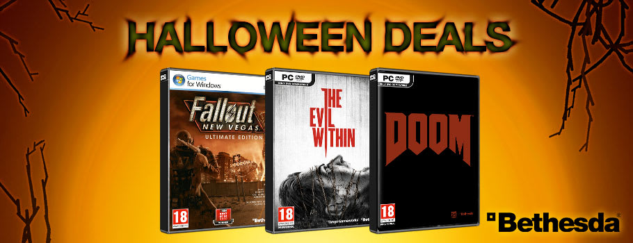 Bethesda Halloween Deals for PC Download - Download Now at GAME.co.uk!