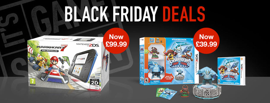 Black Friday for Nintendo 3DS - Buy Now at GAME.co.uk!
