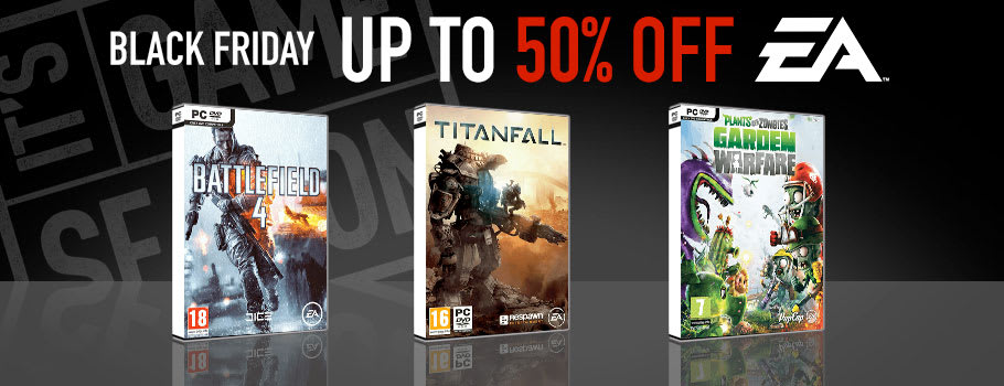 Up to 50% Off EA Games for PC Download - Download Now at GAME.co.uk!