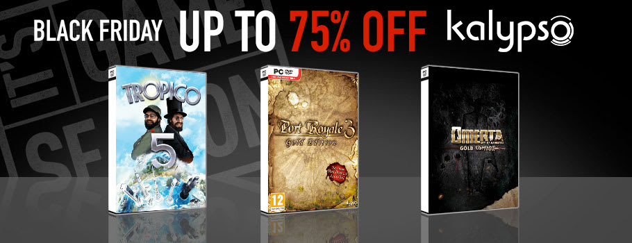 75% Off Kalypso Games for PC Download - Download Now at GAME.co.uk!