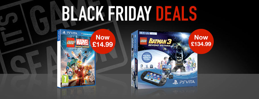 Black Friday for PlayStation VITA - Buy Now at GAME.co.uk!