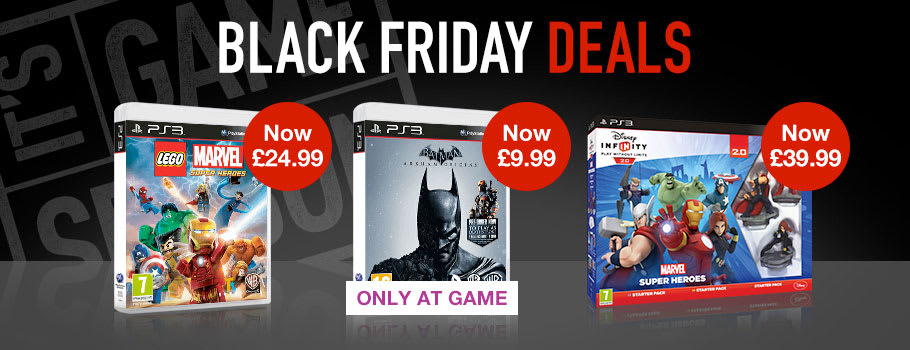 Black Friday PlayStation 3 Games - Buy Now at GAME.co.uk!