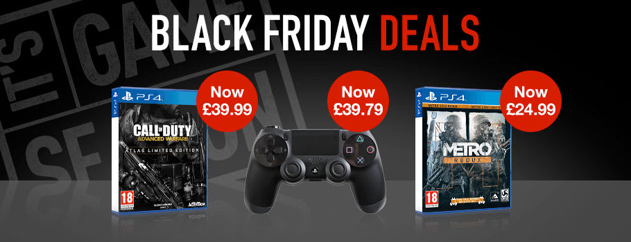 Black Friday PlayStation 4 Games - Buy Now at GAME.co.uk!