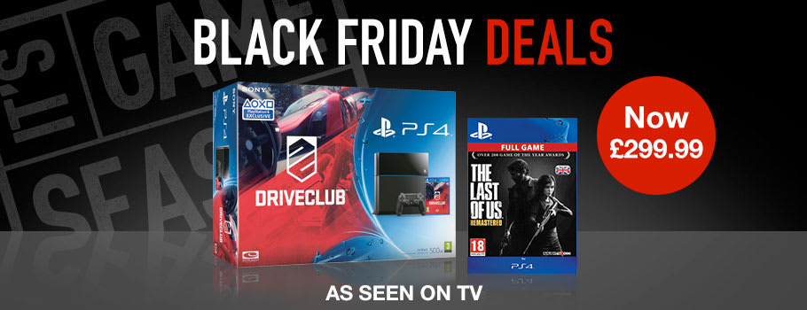 Black Friday TV Deal - Preorder Now at GAME.co.uk!