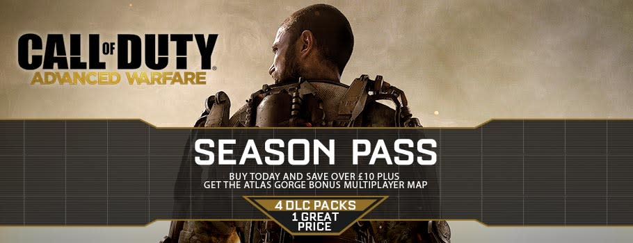 Call of Duty: Advanced Warfare Season Pass for Xbox Live - Download Now at GAME.co.uk!