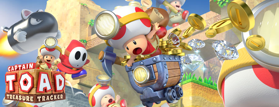 Captain Toad Treasure Tracker for Nintendo eShop - Download Now at GAME.co.uk!