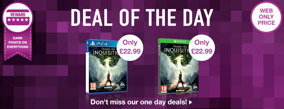 Deal of the Day - Buy Now at GAME.co.uk!