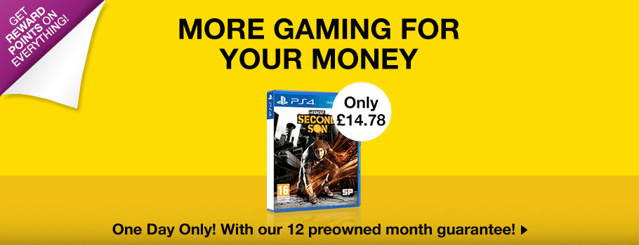 Preowned Deal of the Day - Buy Now at GAME.co.uk!