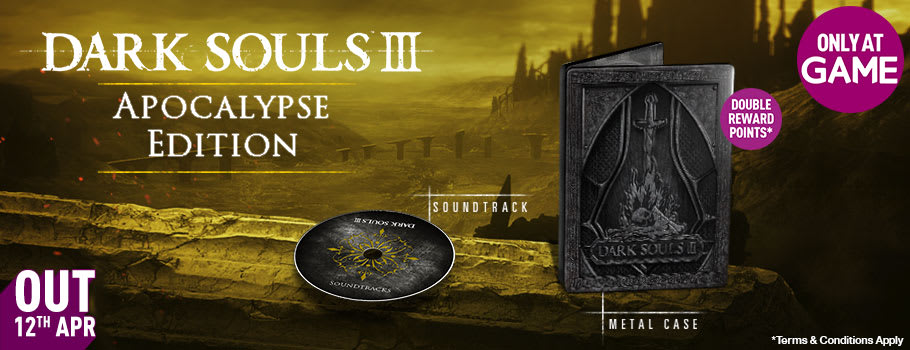 Dark Souls 3 Apocalypse Edition Only at GAME for PC - Pre-order Now at GAME.co.uk!