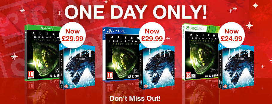 Deal of the Day - Preorder Now at GAME.co.uk!