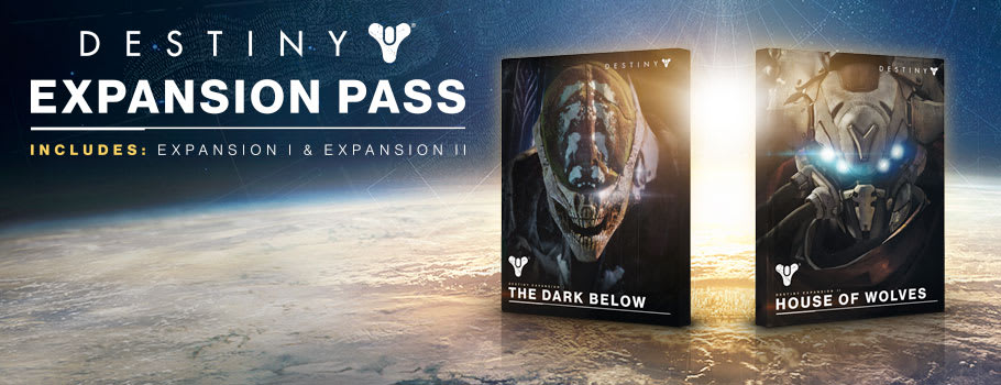 Destiny Expansion Pass for PlayStation Network - Download Now at GAME.co.uk!