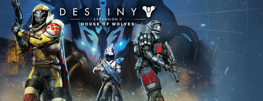 Destiny House of Wolves for PlayStation Network - Prepurchase Now at GAME.co.uk!
