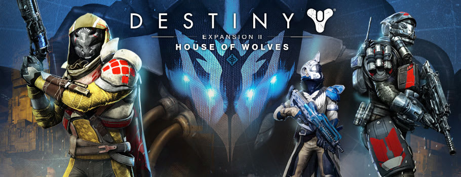 Destiny House of Wolves for Xbox Live - Prepurchase Now at GAME.co.uk!
