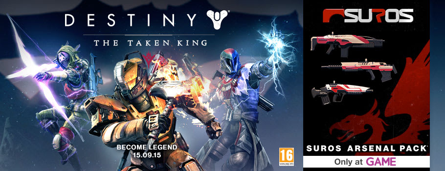 Destiny - Preorder Now at GAME.co.uk!